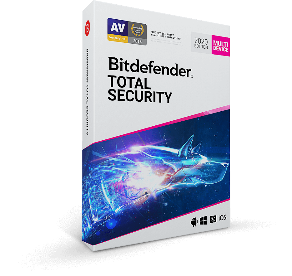 6. Bitdefender Total Security software