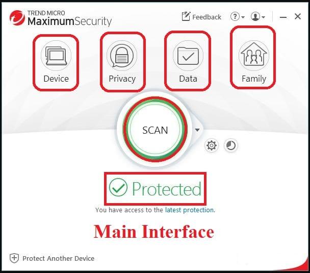 Trend Micro Maximum Security software