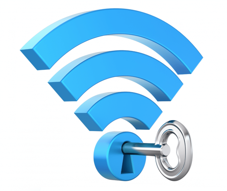 key in wifi to show secure network