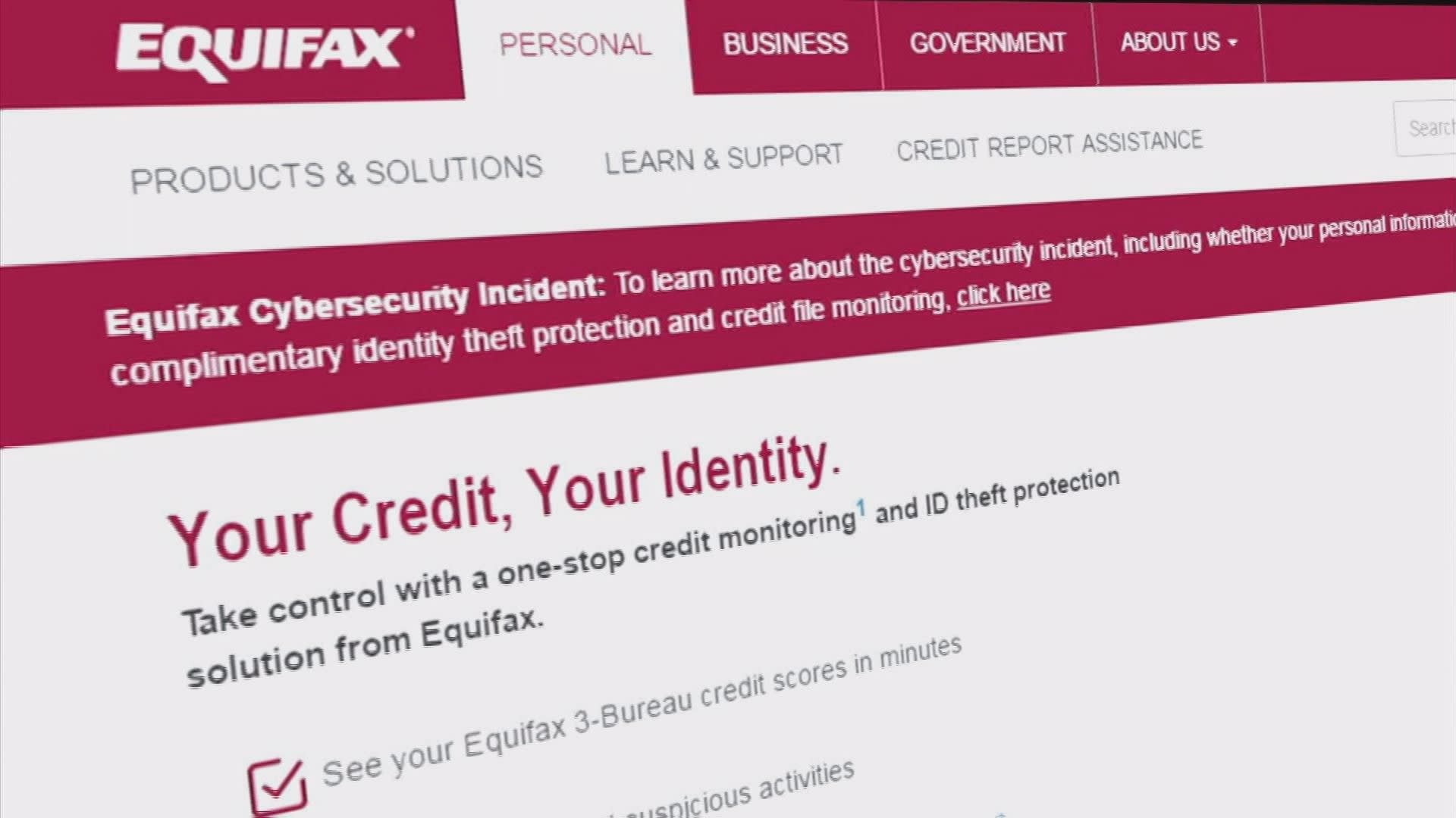 Equifax Credit Monitoring features