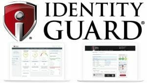 IdentityGuard logo and features