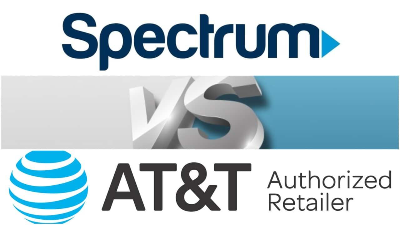 Spectrum and ATT logos