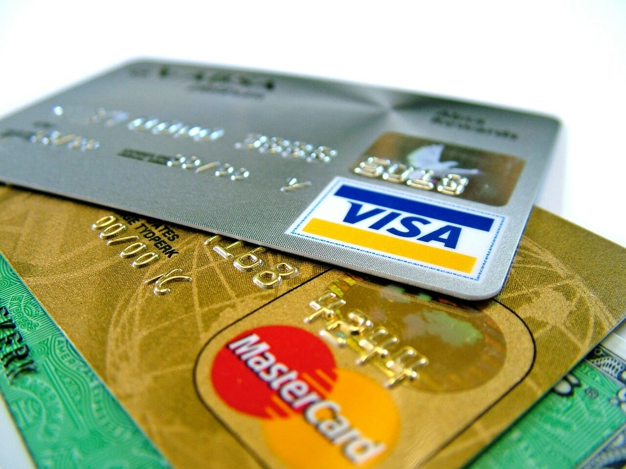 visa and master cards