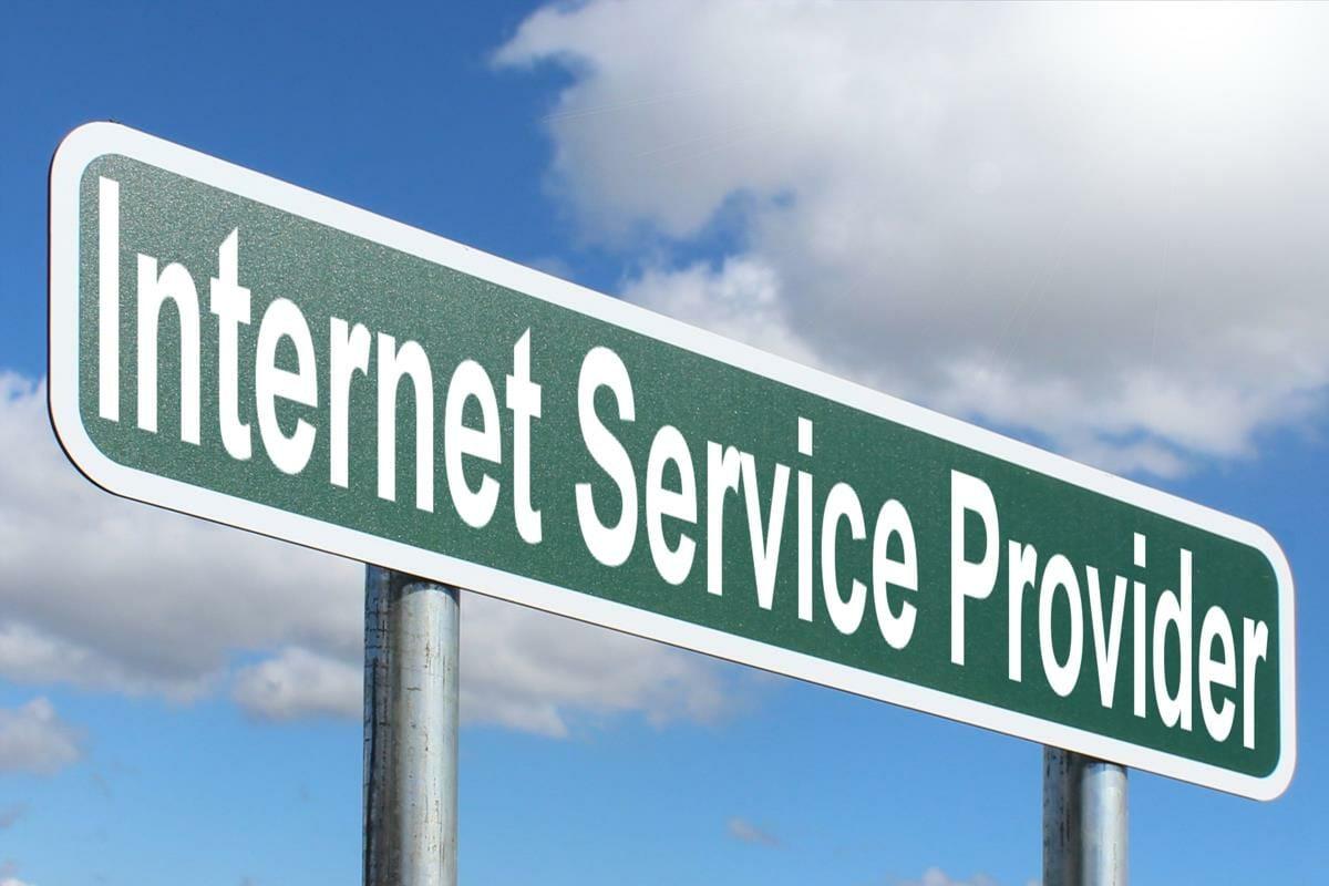 internet service provider sign