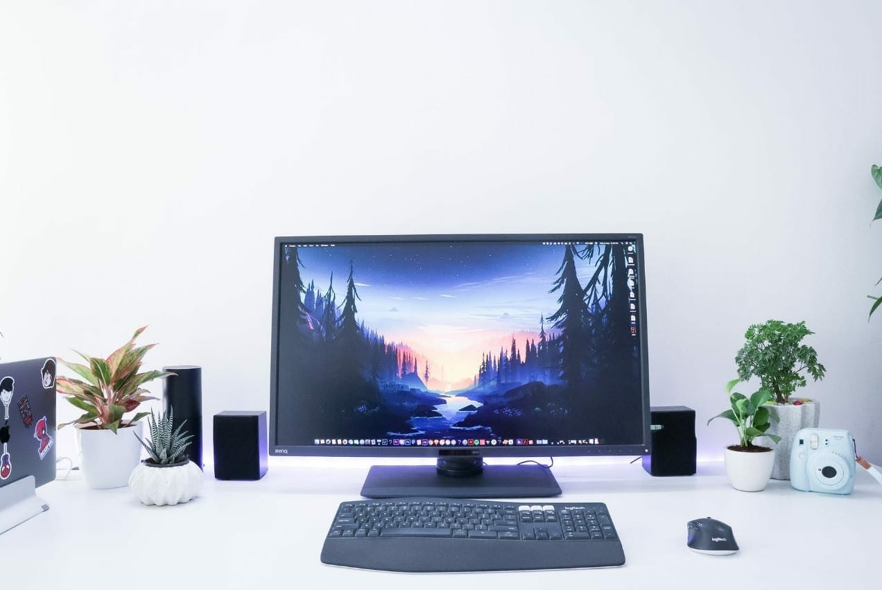check out monitor for eye strains as addition to your new setup