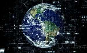 how does satellite internet works