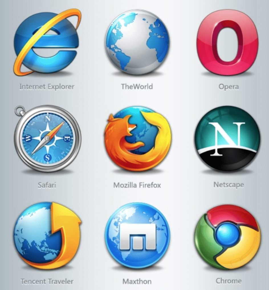 9 web browsers old and new