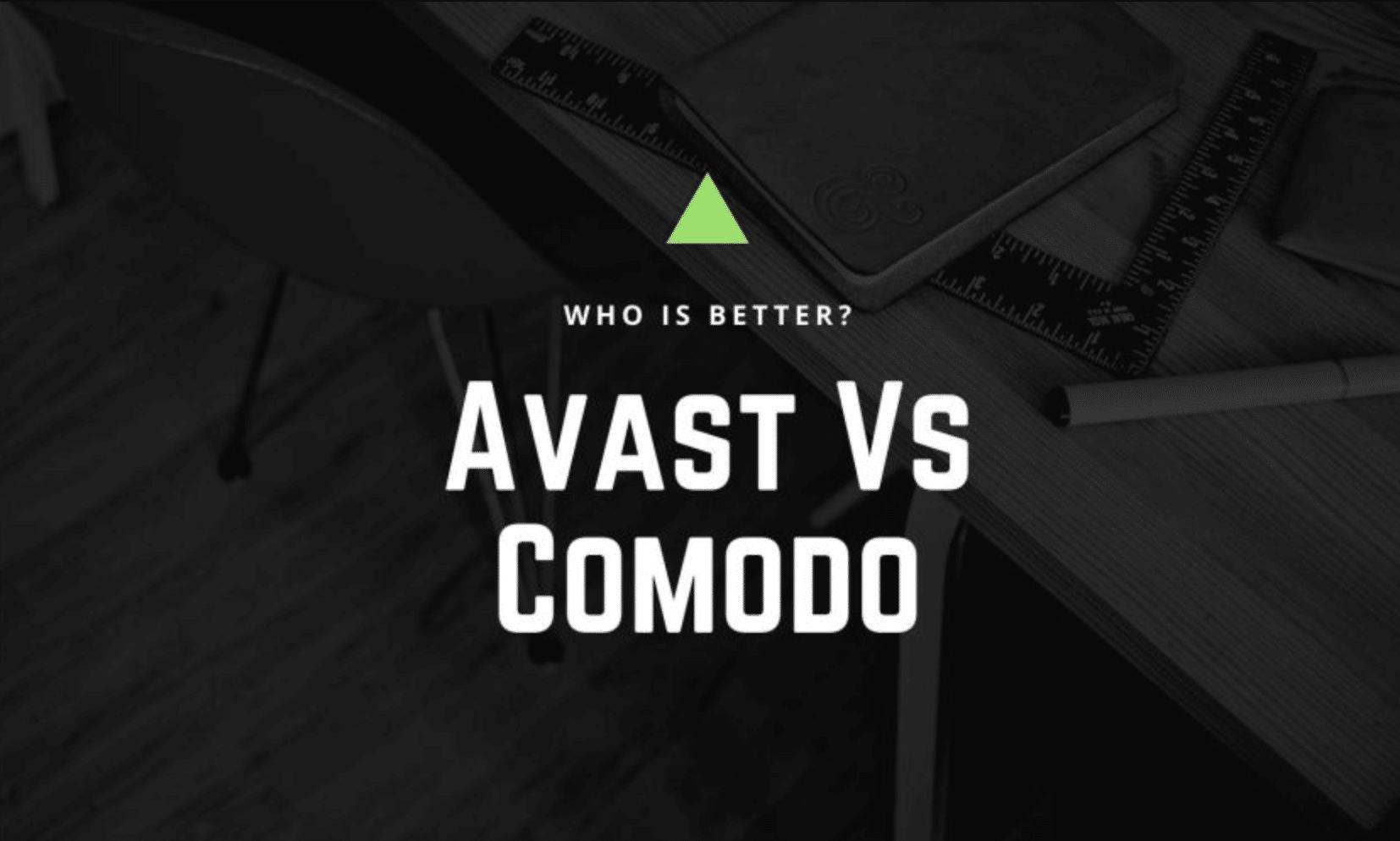 Avast vs Comodo