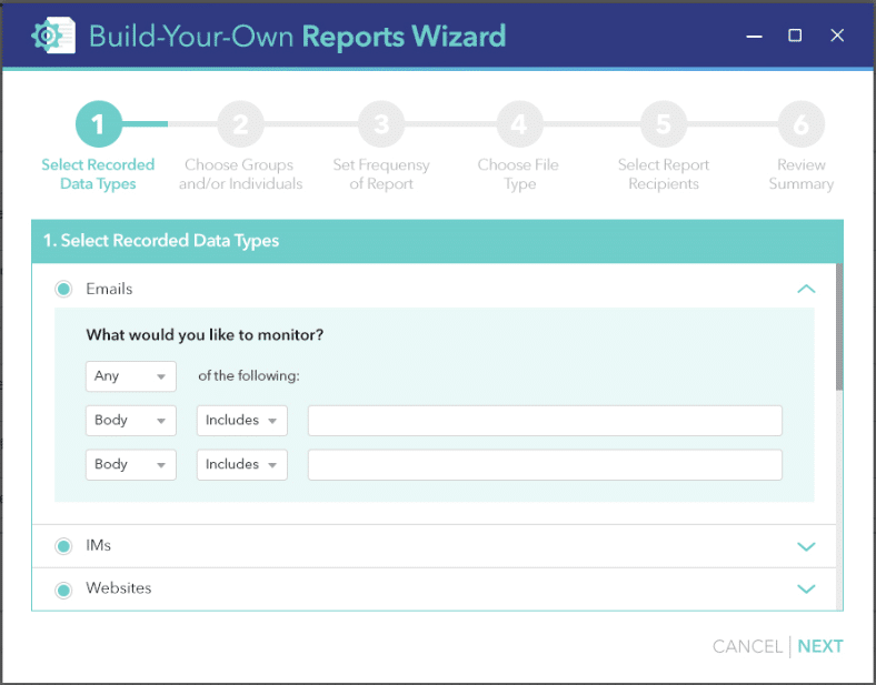 making a report