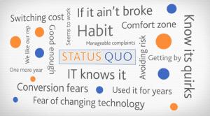 quotes perpetuating the status quo