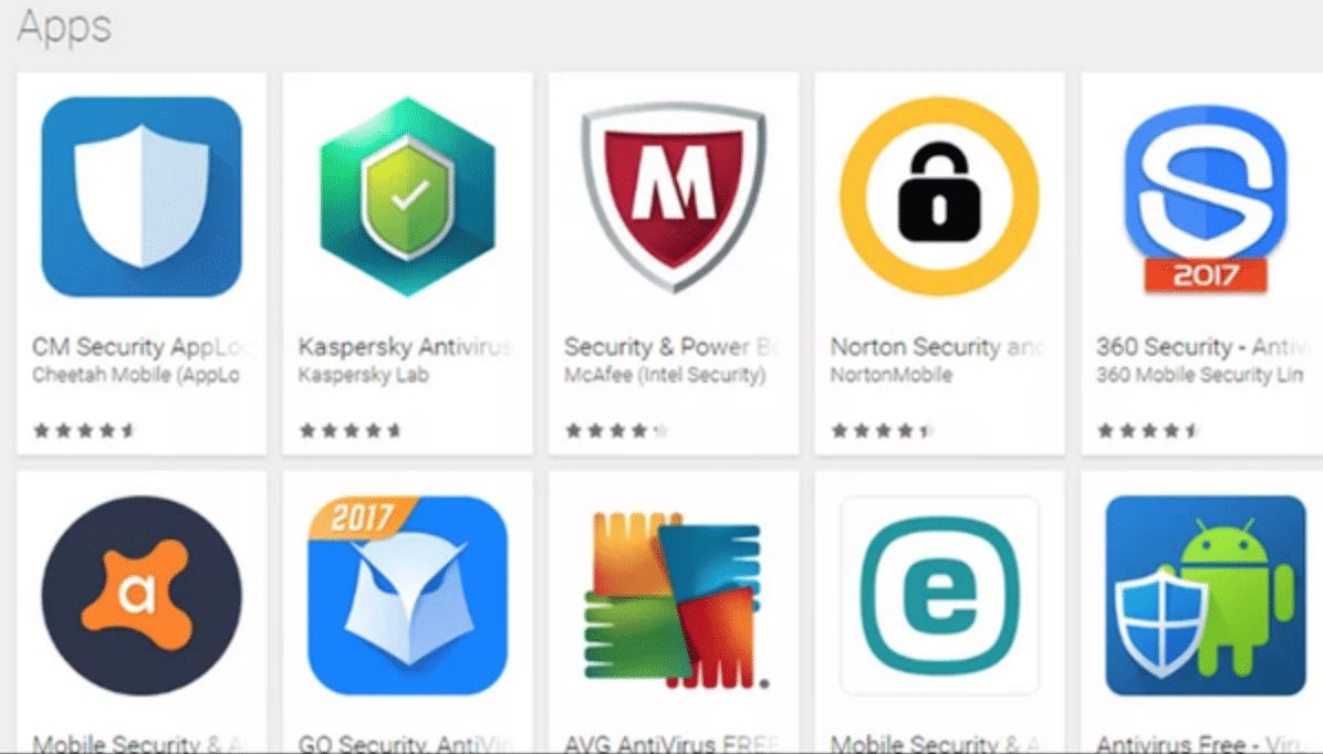antivirus apps in app store