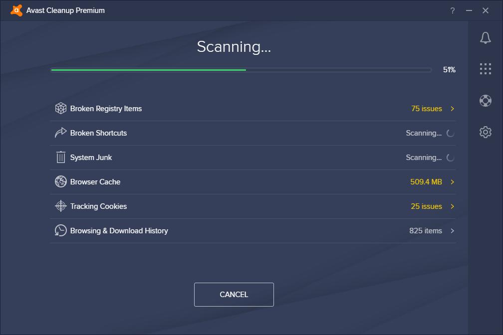 Avast antivirus features