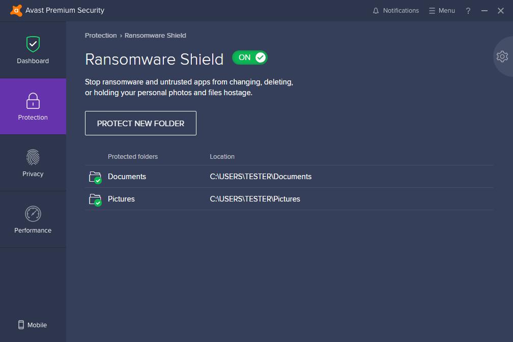 ransomware shield capture