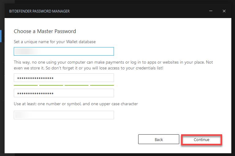 Password manager capture