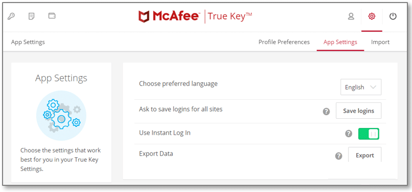 McAfee features