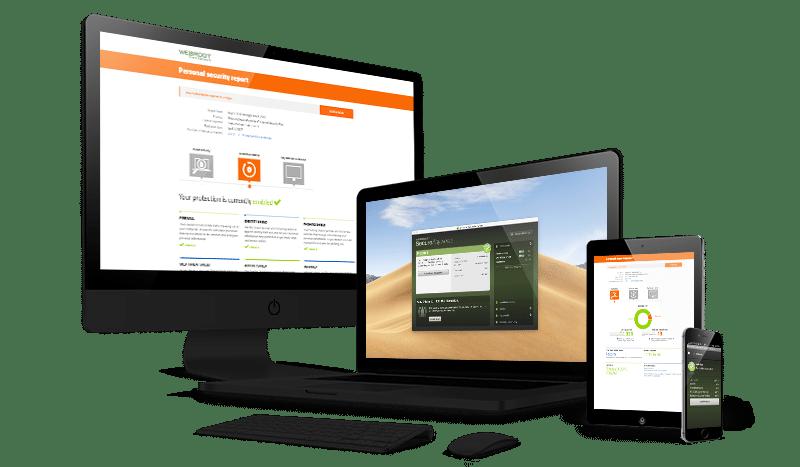 Webroot software running