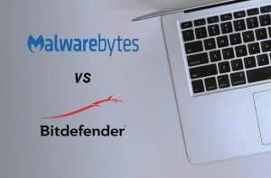 stock photo that says malware bytes vs bit defender