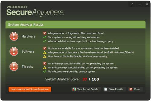 Webroot features