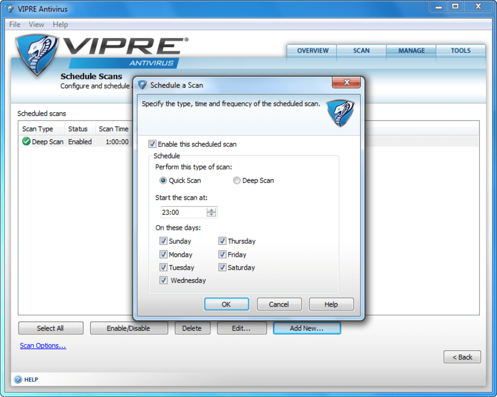 Vipre features
