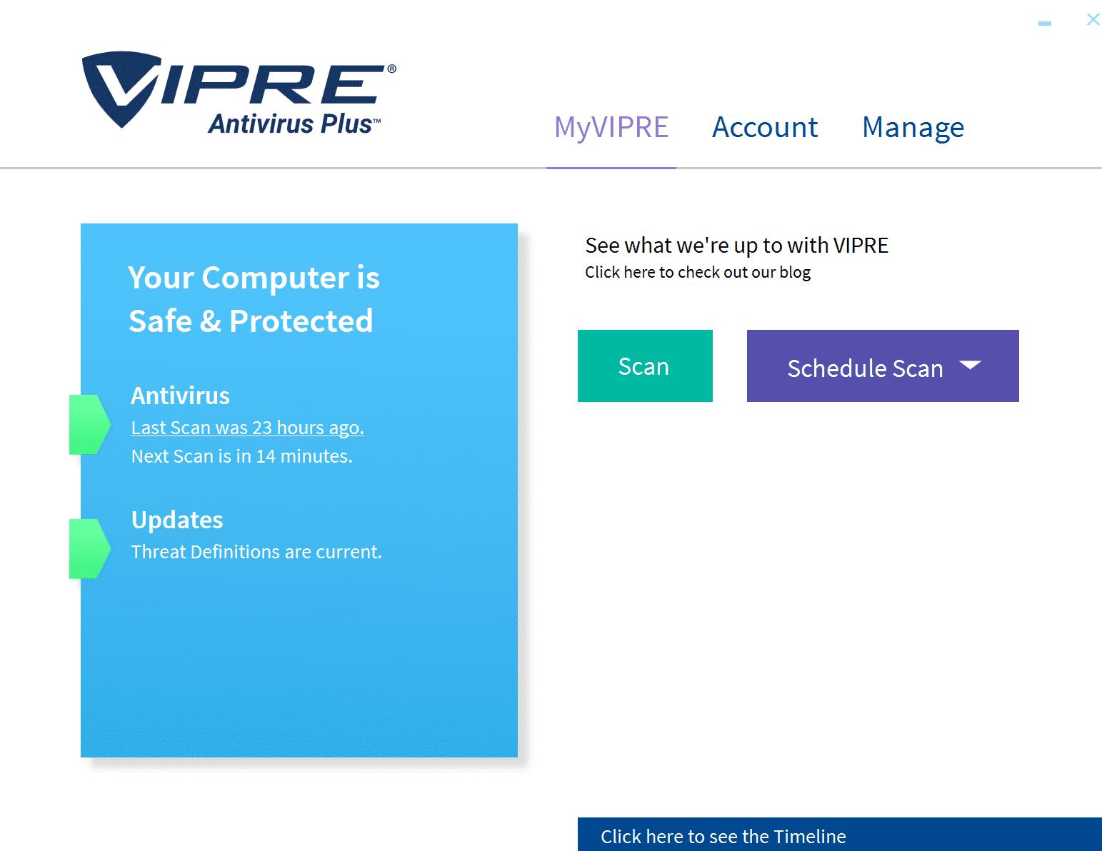Vipre antivirus features