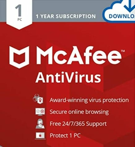 mcafee for gamers