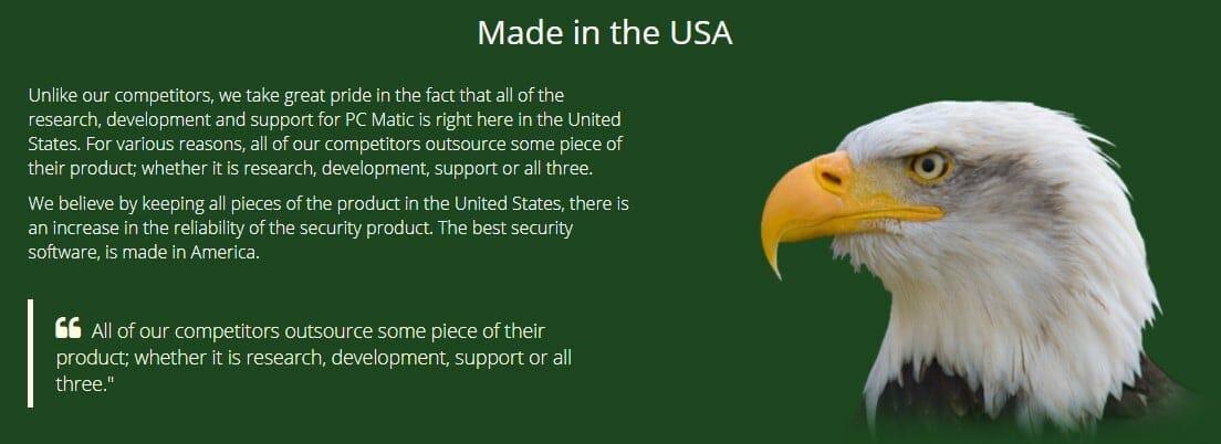 USA eagle pc matic
