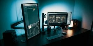 check out the purpose of vertical monitor