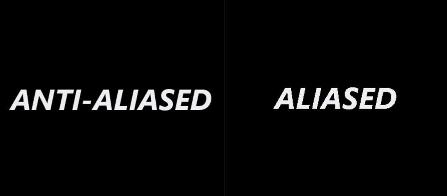 Best Anti-Aliasing