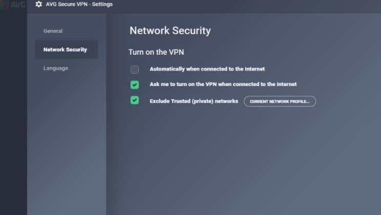 network avg