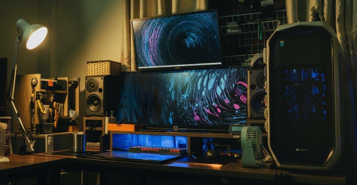 gaming monitor looks
