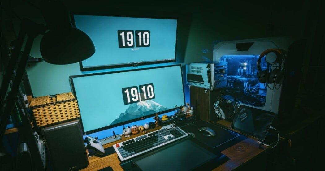 blue screens