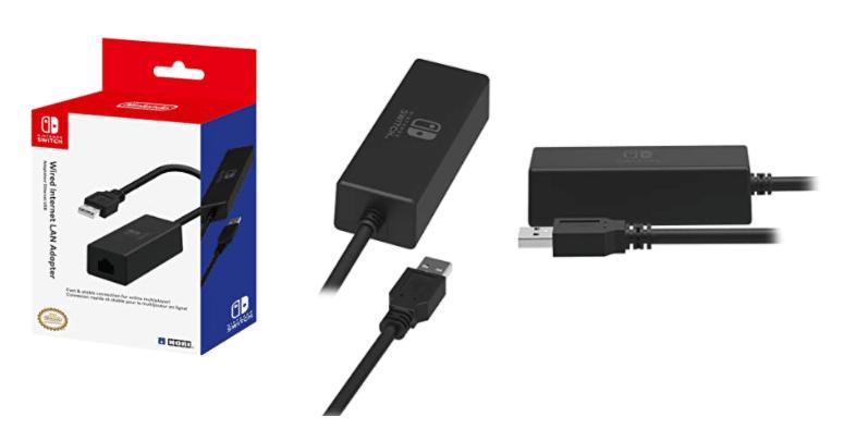 Nintendo Switch Wired Internet LAN Adapter by HORI