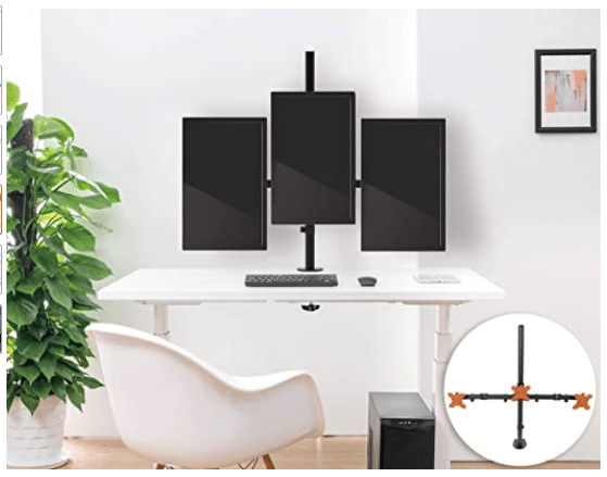 Top Triple Monitor Stand