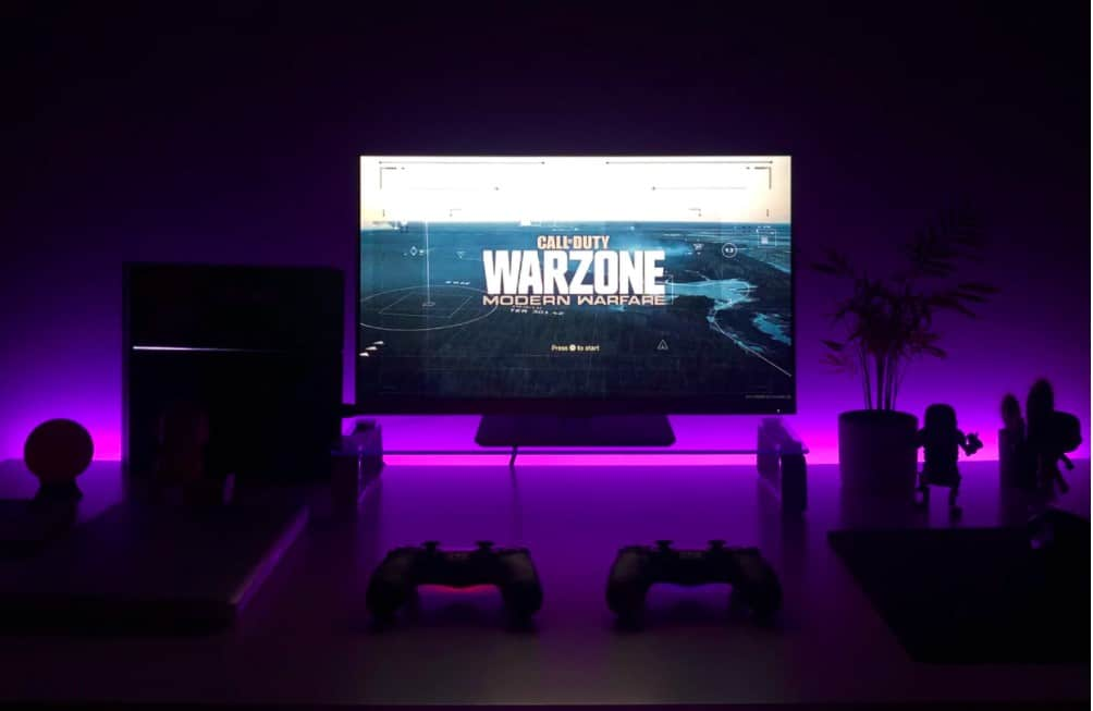 warzone game on tv