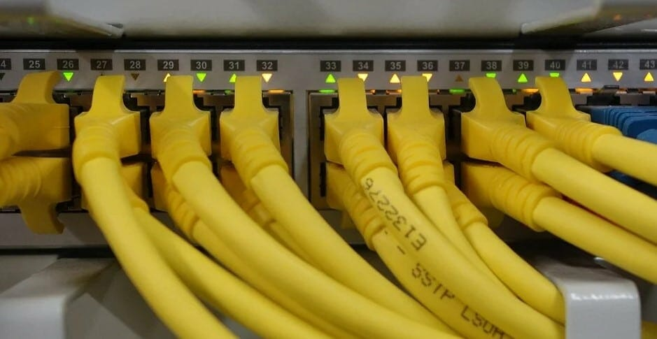 yellow cables