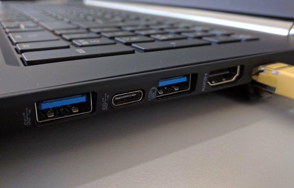 laptop ports