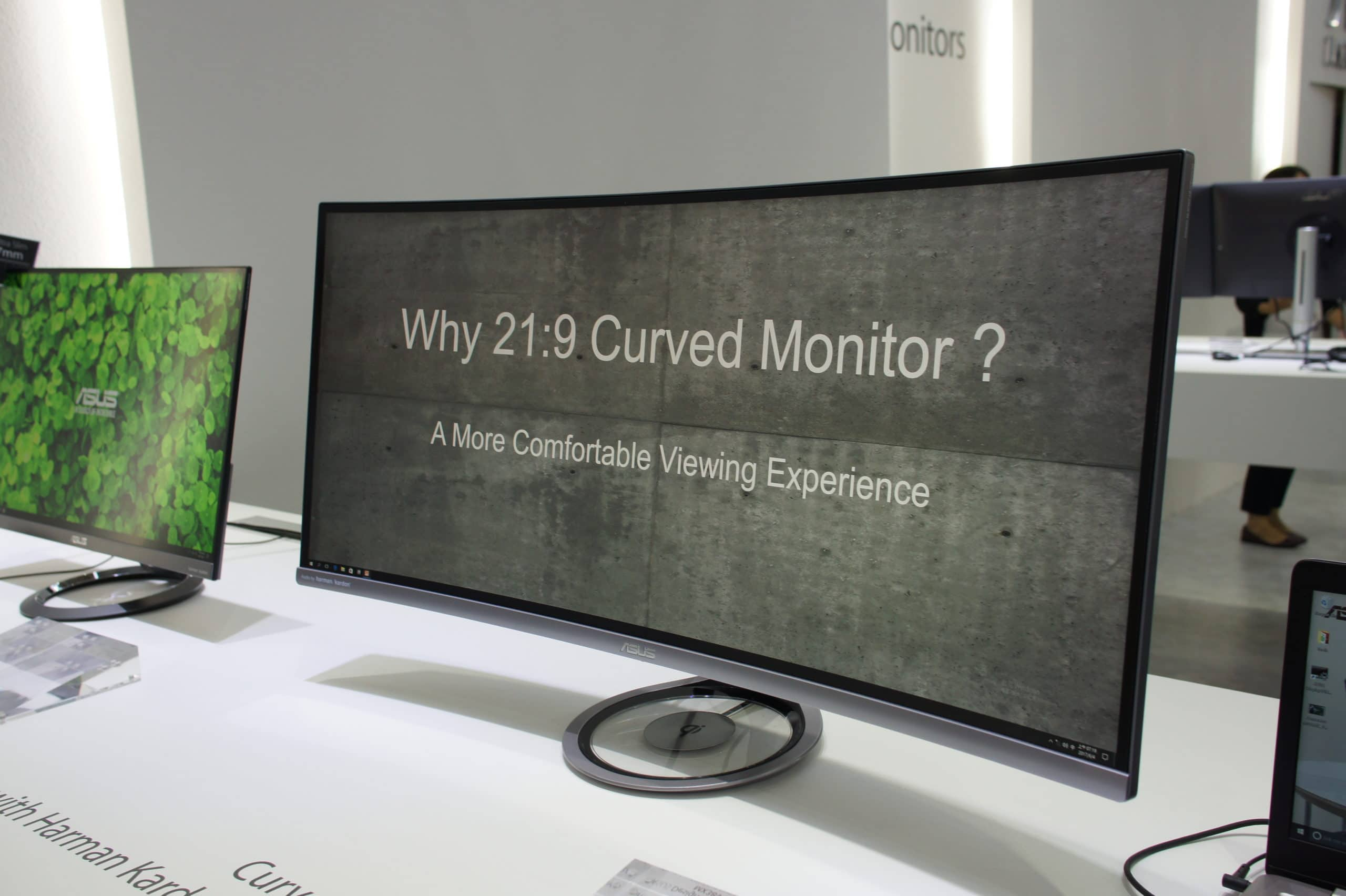 a question on the screen