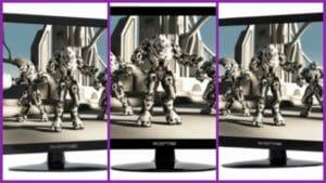 Sceptre screens