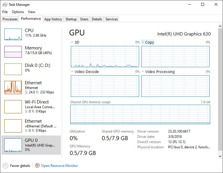 GPU performance capture