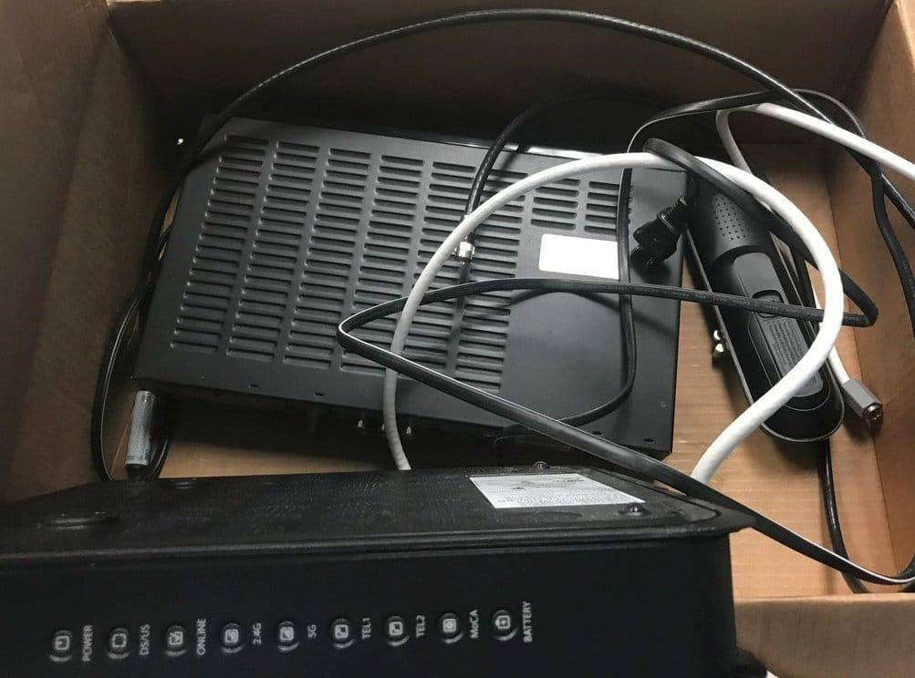 Spectrum equipment in the box