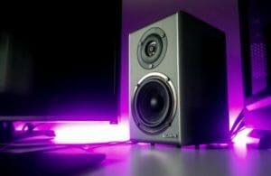 big black speaker