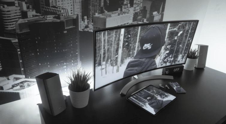 gray monitor