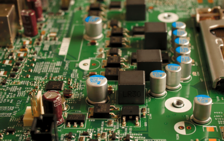 green motherboard