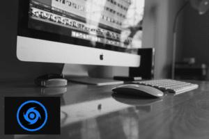 work desk with iBeesoft Data Recovery logo