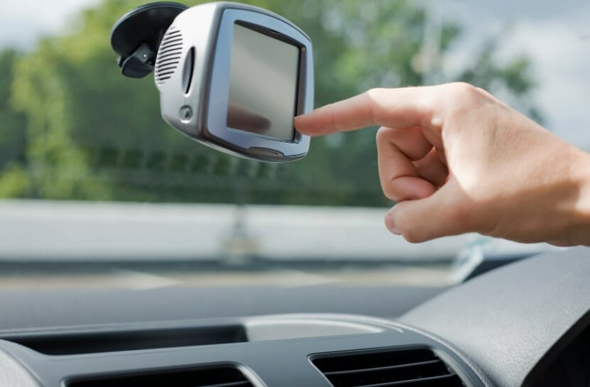 touch screen in car