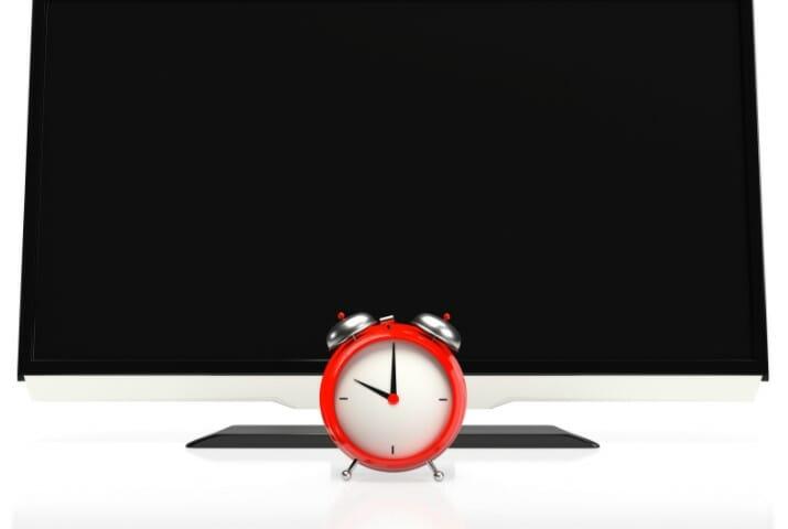 led monitor and clock